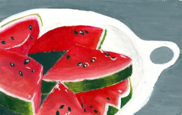 watermelon chunks Joshua tabti 2011